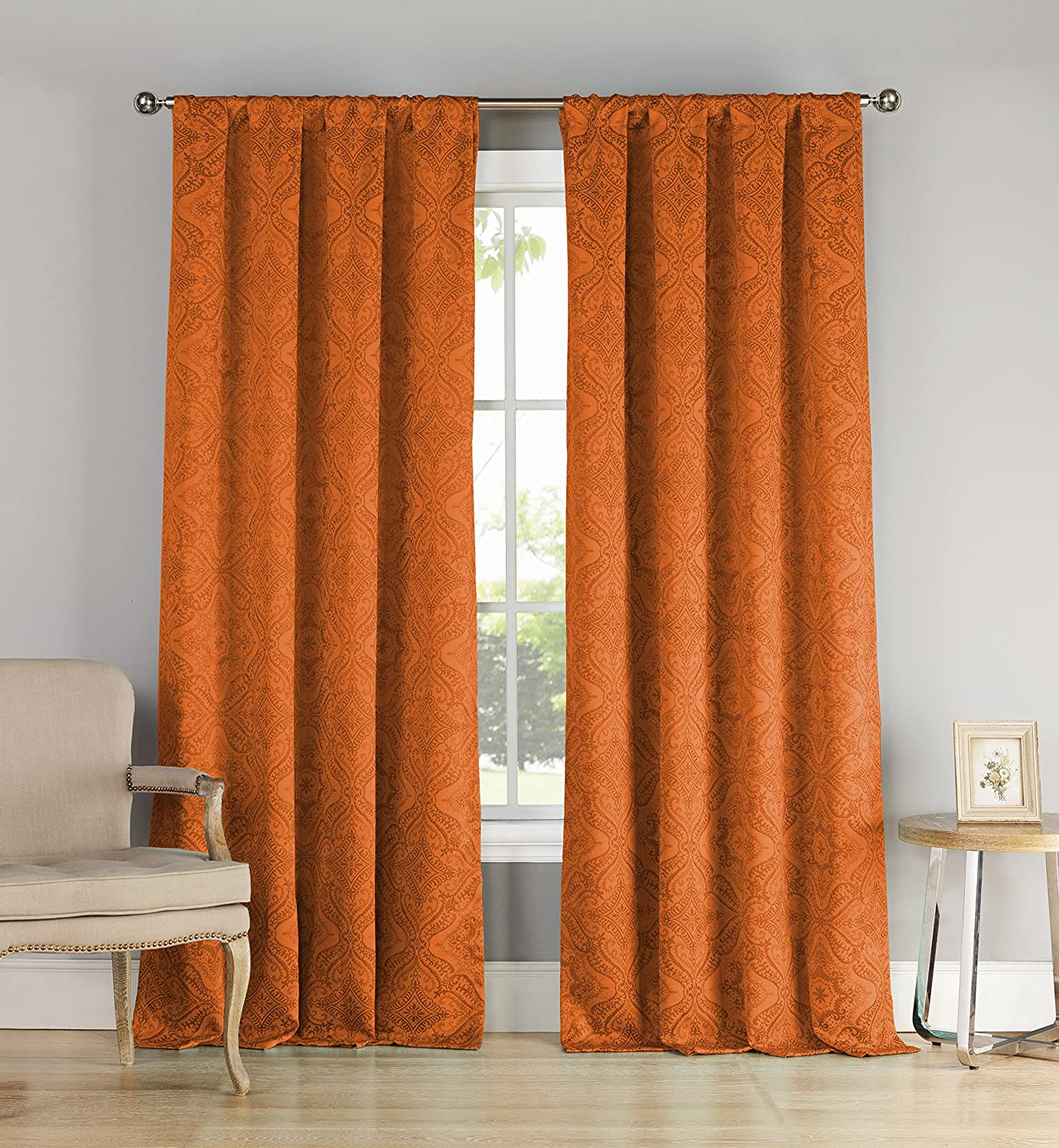 Orange And White Curtains Panels Related Posts Orange Curtains Panels X Orange Curtains Panels