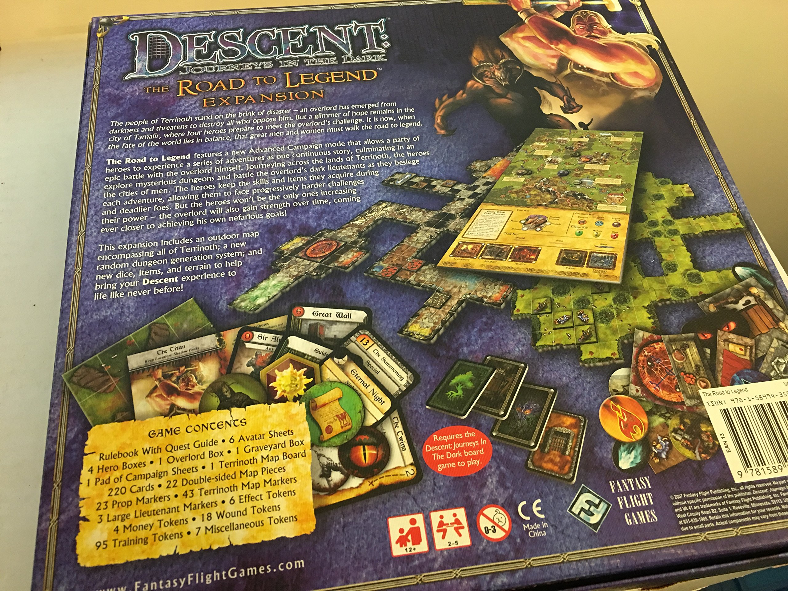Descent: Journeys in the Dark: The Road to Legend Expansion With Game Pieces and Gameboard: Amazon.es: Wilson, Kevin: Libros en idiomas extranjeros