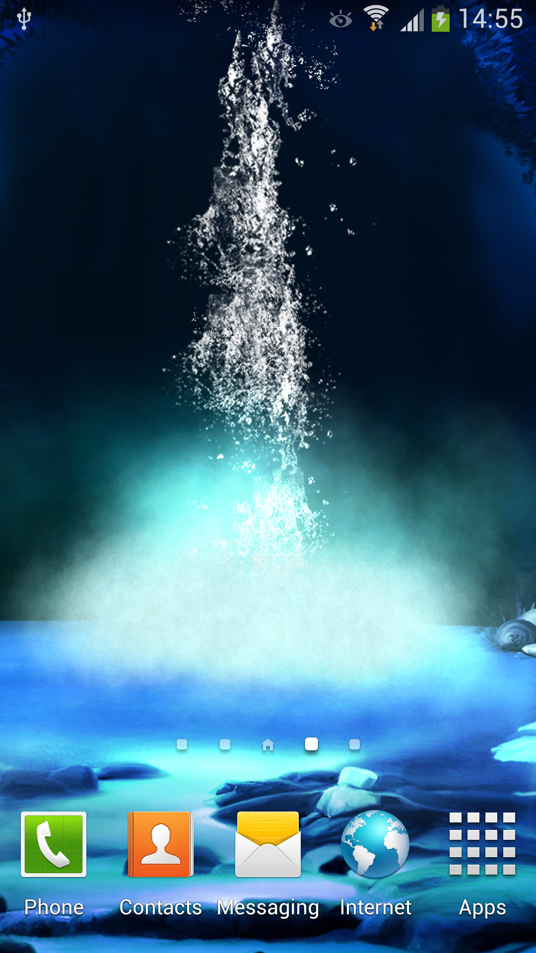 Amazon 3D Night Waterfall Live Wallpaper Appstore For Android