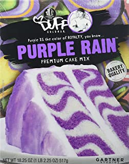 Duff Decorating Mix Cake Purple Rain 1 Pack