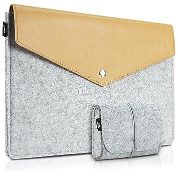 Conception innovante 9850b a9a73 Housse MacBook Air 11 Pouces, Housse pour Portable / Housse pour MacBook  Air / Housse fine en Feutre Natur® 11-11.6 Pouces, Sac de transport  enveloppe ...