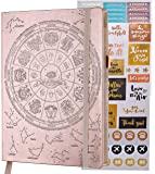 Freedom Mastery Planner Law of Attraction Life & Success Planner - A 12 Month Journey Creating Your Dream Life - Personal Journal & Week Planner & Goal Planner & Organizer - Rose Gold B5 with Box