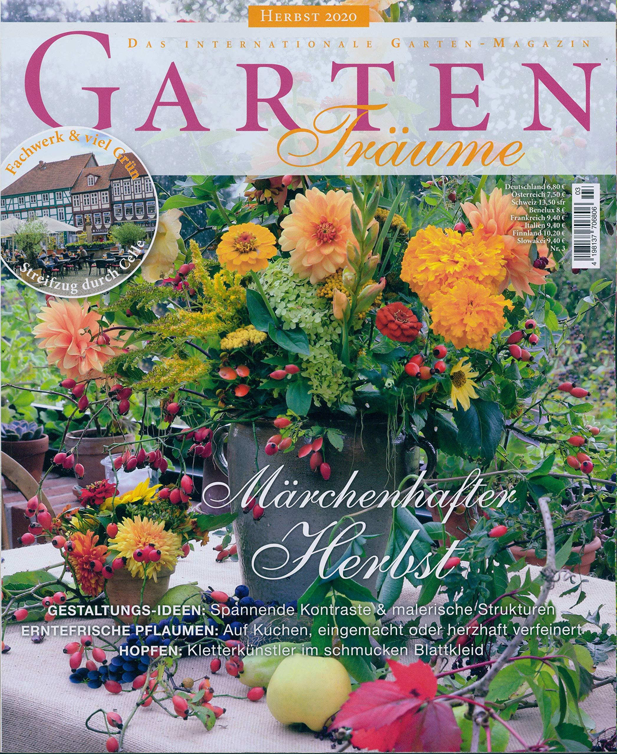 Garten Traume 3 2020 Marchenhafter Herbst Amazon De Garten Traume Bucher