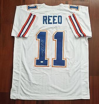 Jordan Reed Autographed Signed Jersey Florida Gators JSA at Amazon s ... fe5d14a5f