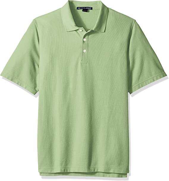 D & Jones Hombre Manga Corta Camisa Polo - Verde - X-Small: Amazon ...