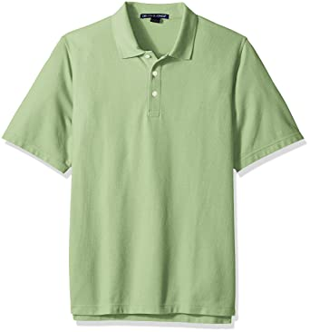D & Jones Hombre Manga Corta Camisa Polo - Verde - X-Small: Amazon ...