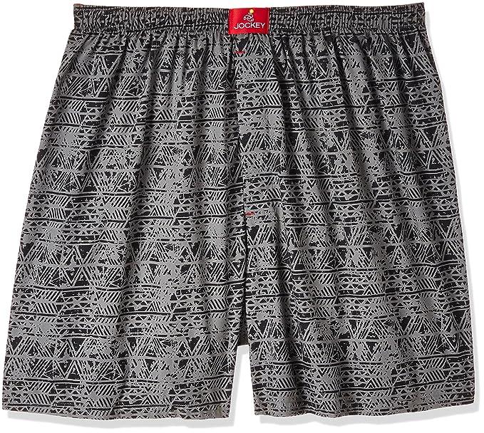 b96e3b1cef Image Unavailable. Image not available for. Colour: Jockey Men's Cotton  Boxer Shorts ...