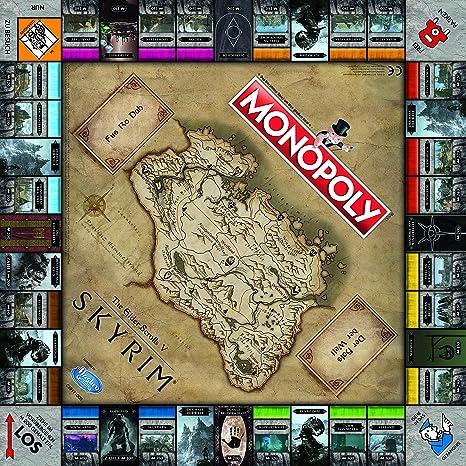 Winning Moves win44741 Monopoly: Skyrim: Amazon.es: Juguetes y juegos