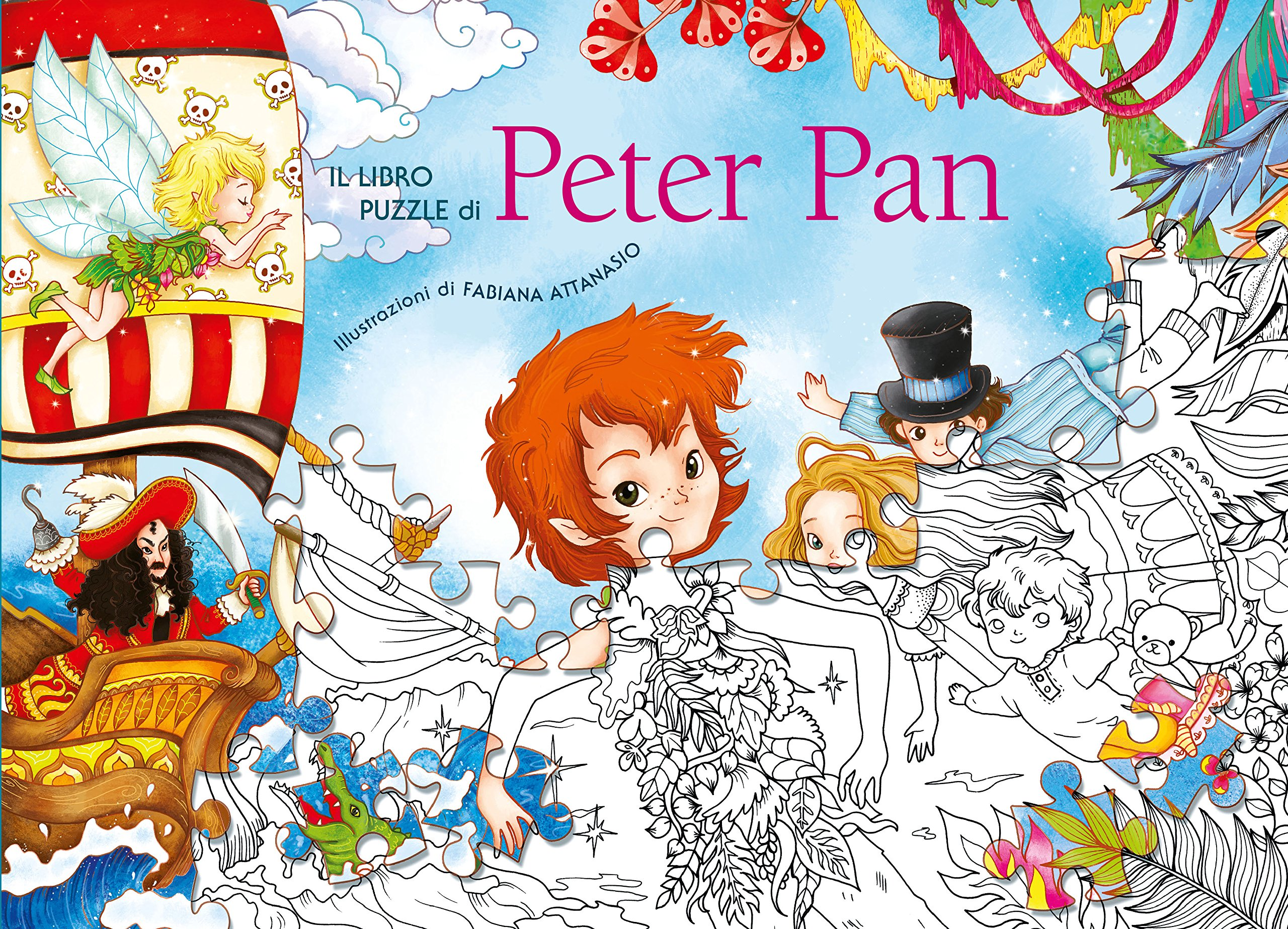 Il Libro Puzzle DiPeter Pan Amazoncouk Fabiana Attanasio A1O QIluj3L 8854032050 Book Peter By