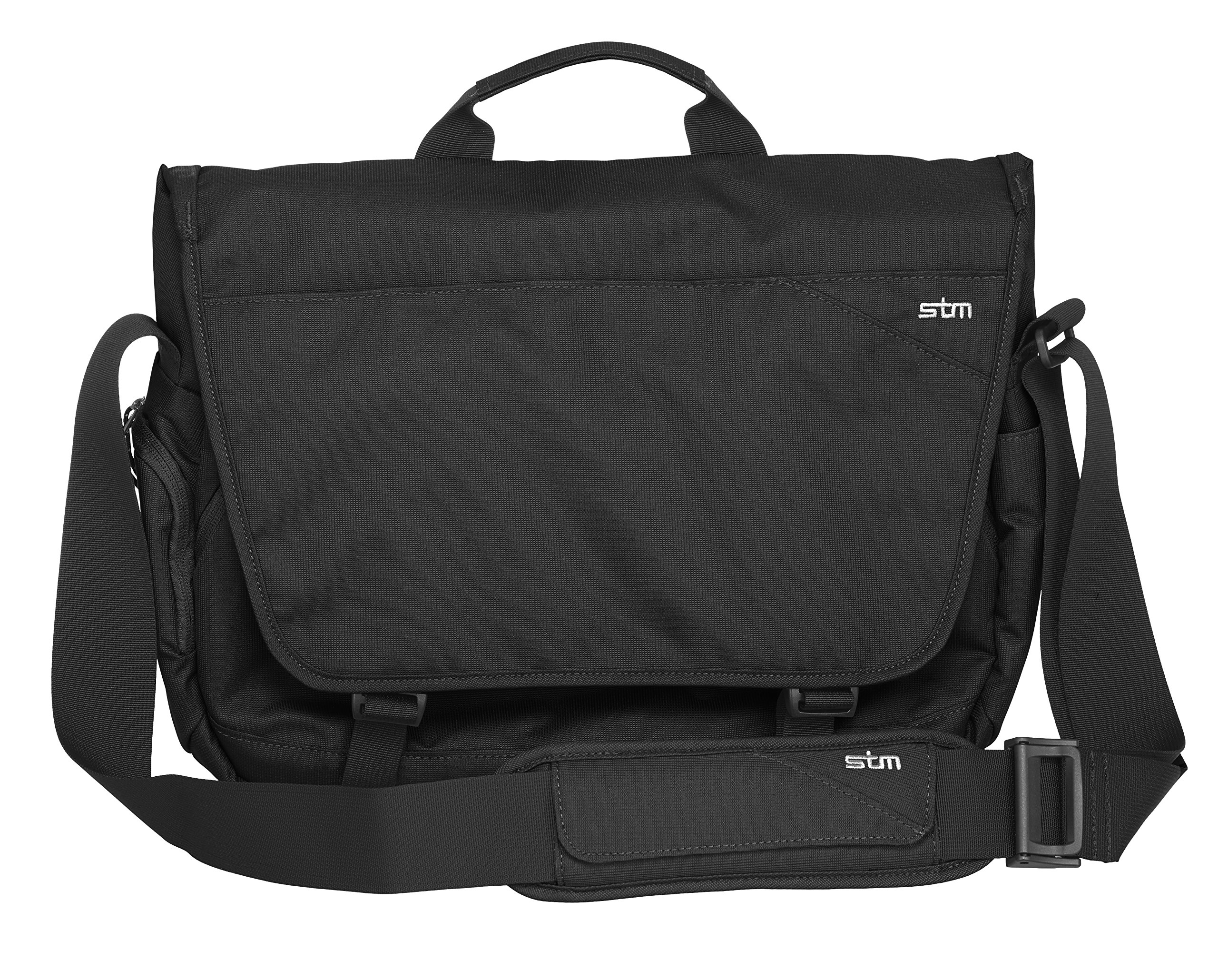 STM Radial Messenger Bag for 15'' Laptop & Tablet - Black (stm-112-117P-01)
