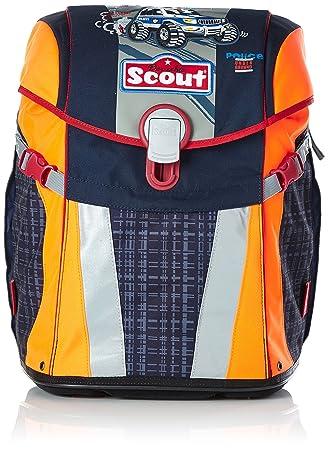 8e203500f8b66 Scout - Sunny - Schulranzen Set 4 tlg. - Polizei  Amazon.de  Koffer ...