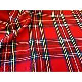 Royal Stewart Tartan Fabric (Per Metre)