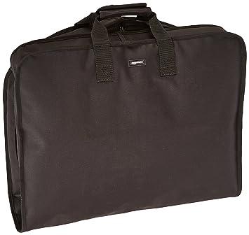 AmazonBasics Travel Hanging Luggage Suit Garment Bag , 40 Inch, Black