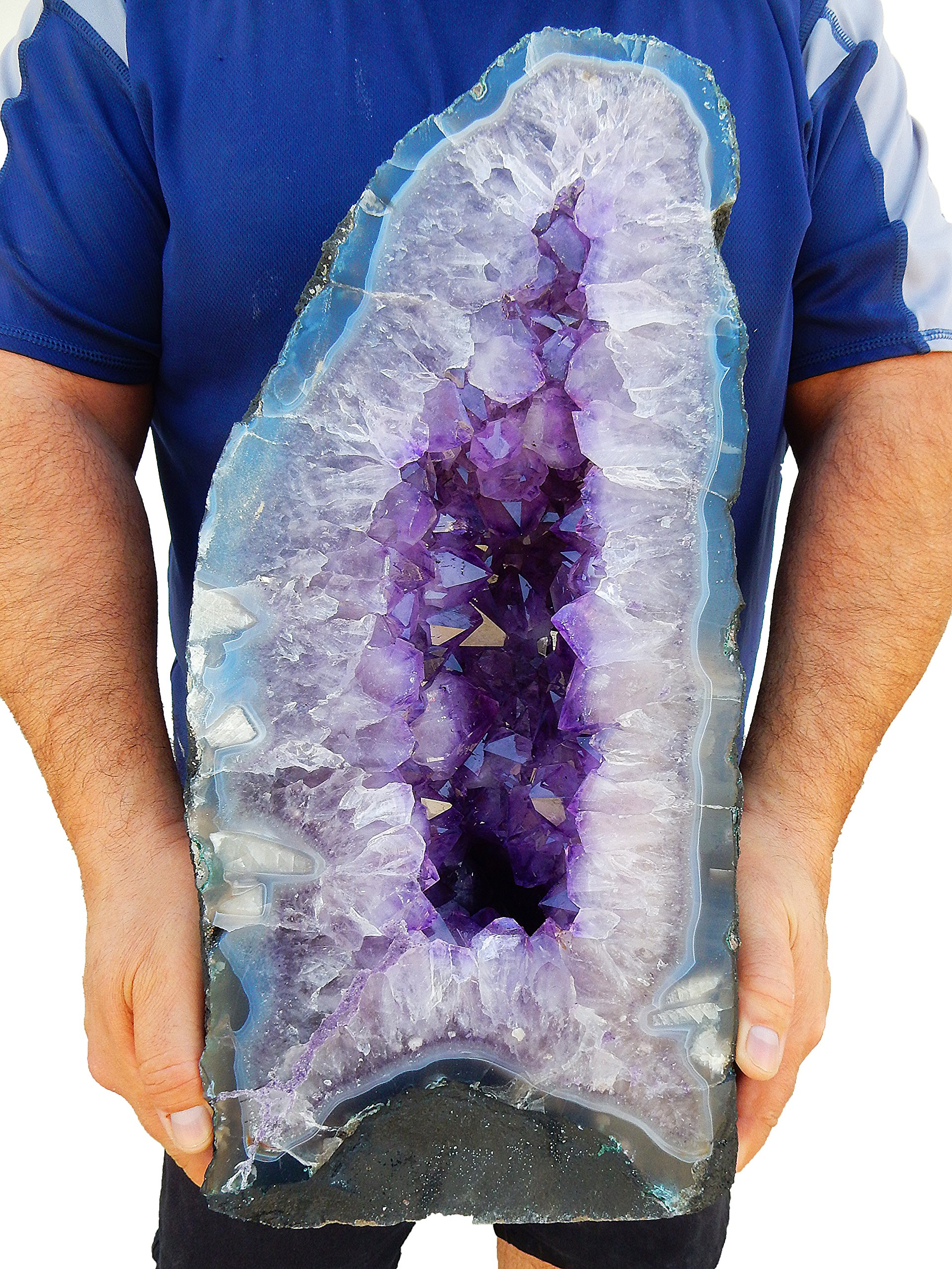 Beverly Oaks Large Amethyst Crystal Cathedral ~ Raw Amethyst Stone Geode ~ 54.27 lb Amazing Amethyst Cluster by (AC-52A)
