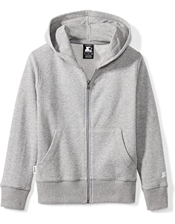 d1f375290 Starter Boys' Solid Zip-Up Hoodie, Amazon Exclusive