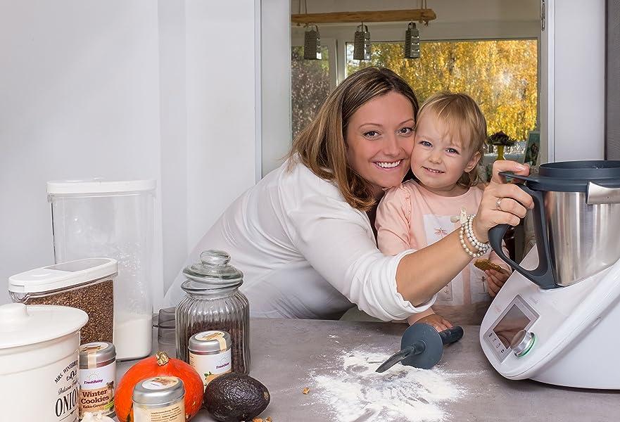 Rezepte f r kleine kinder kochen mit dem thermomix svetlana hartig b cher - Kochen fur kinder thermomix ...