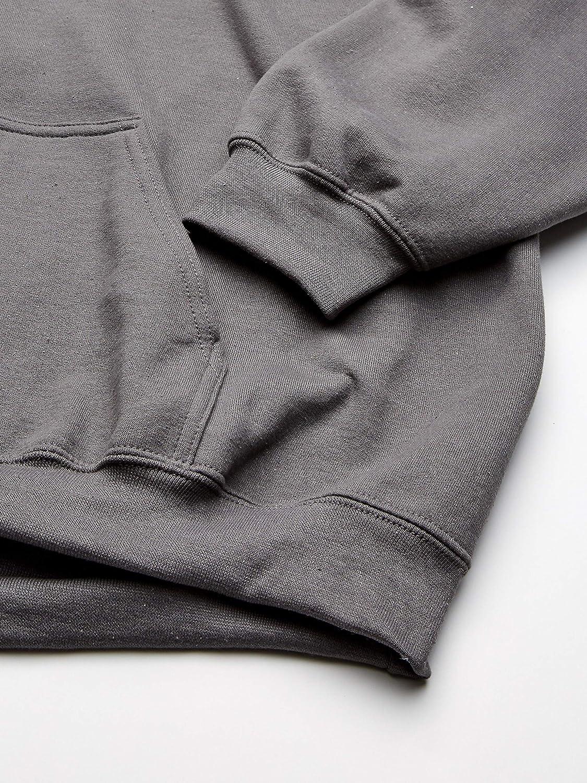 Gildan Mens Heavy Blend Fleece Hooded Sweatshirt Hooded Sweatshirt