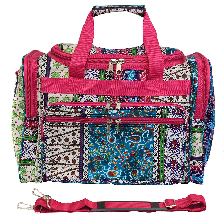 World Traveler 81T16-589 Duffle Bag Multi Paws One Size