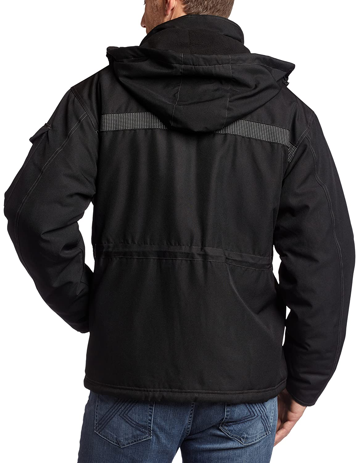 Amazon.com: Caterpillar Men's Heavy Insulated Parka: Outerwear ...