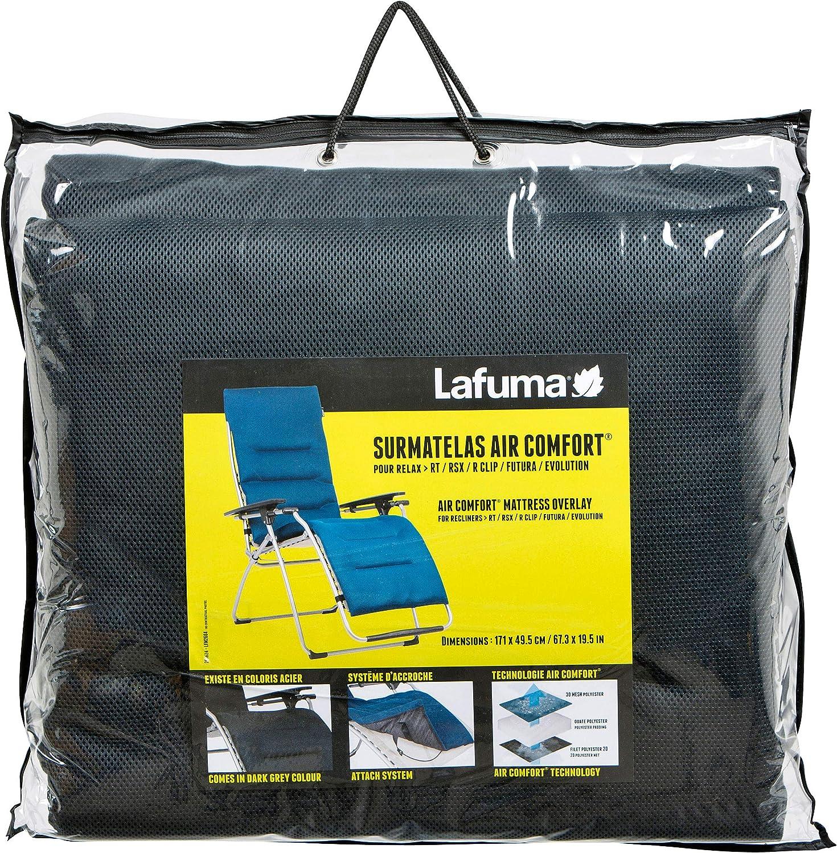 Lafuma Coussin rembourr/é Air Comfort pour fauteuil Alu Cham