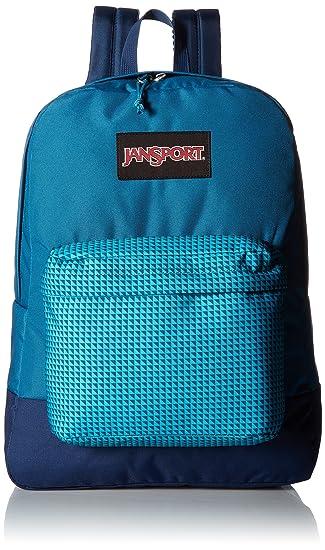 Amazon.com: JanSport Black Label Superbreak Backpack (Blue Combo ...