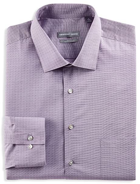 Amazon.com: Geoffrey Beene Dobby - Camiseta, color morado ...