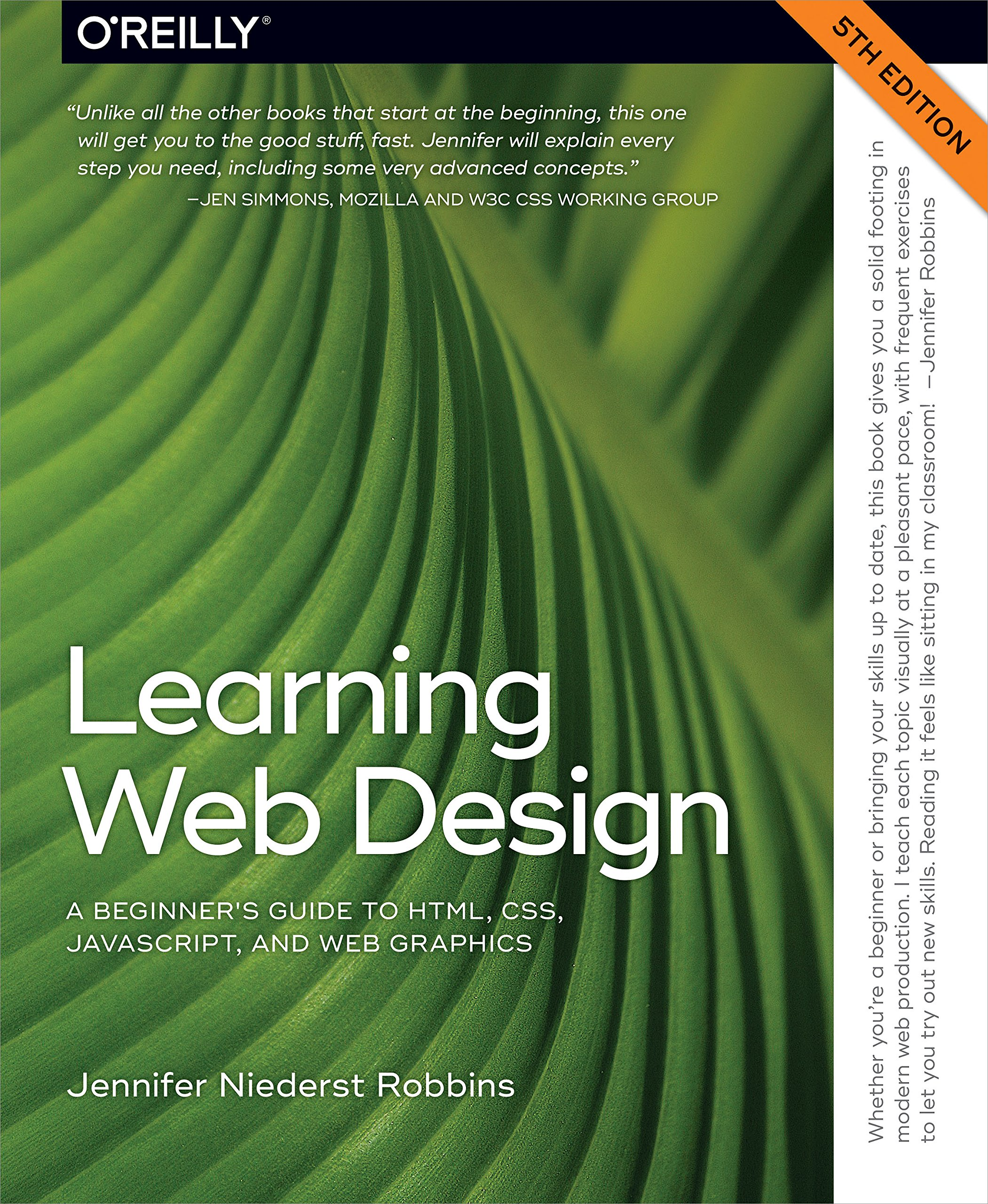 Amazon Com Learning Web Design A Beginner S Guide To Html Css Javascript And Web Graphics Ebook Robbins Jennifer Kindle Store