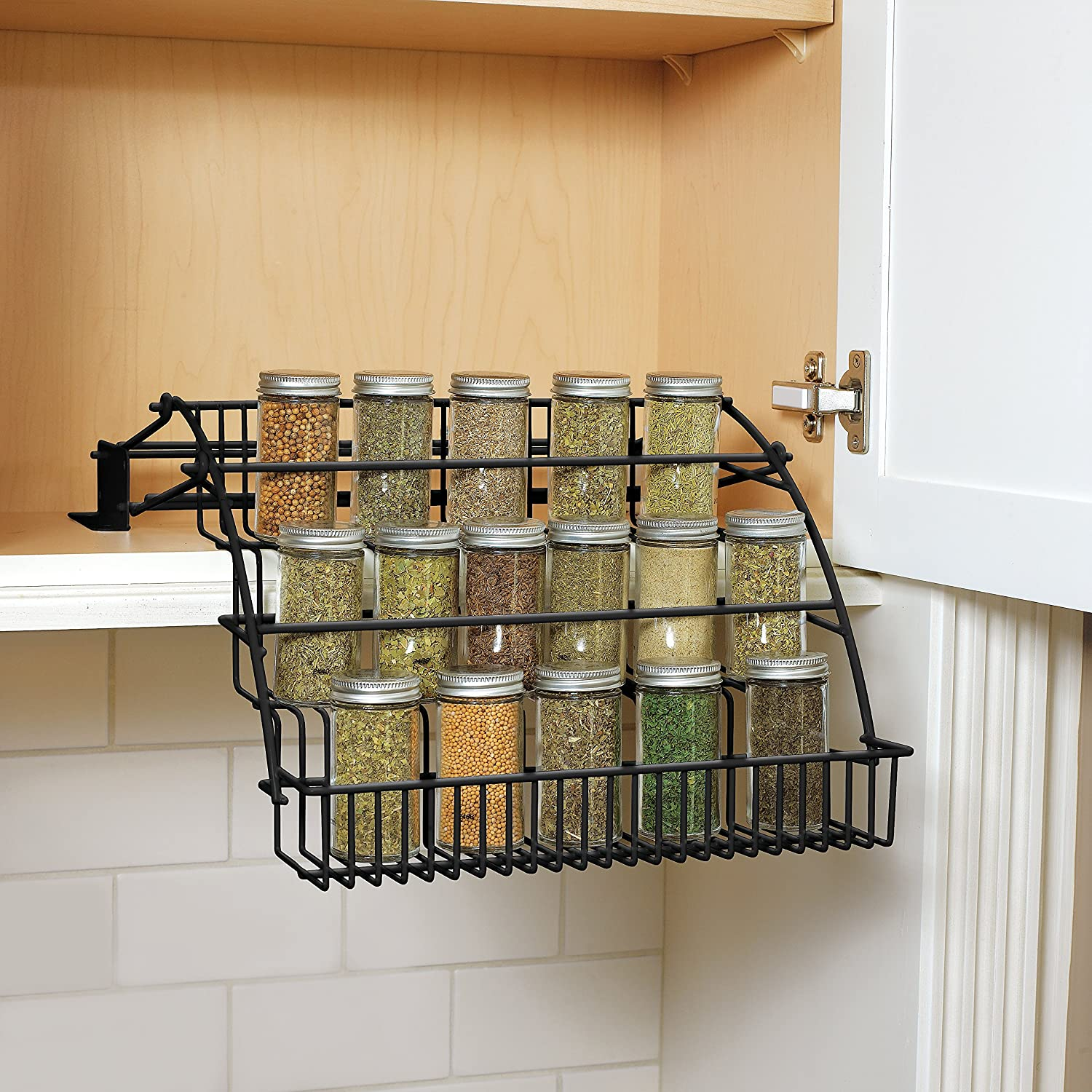 new for cabinet kitchen cabinets com and mnl spice rack capacity unique drawers dp amazon vertical racks mounted dc