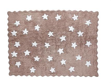 Tappeti Per Bambini Lavabili In Lavatrice : Aratextil eden tappeto per bambini cotone talpa cm