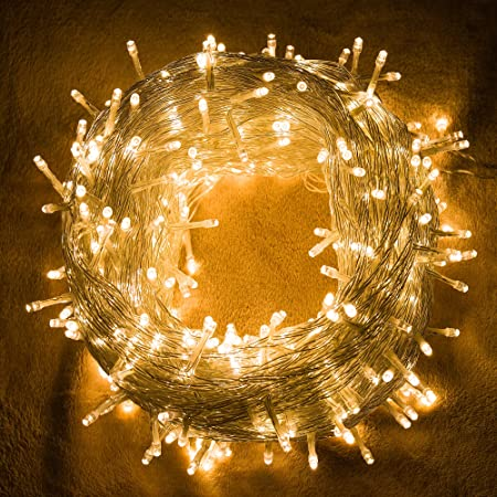 Quntis LED String Lights, 100M 500LED CE Standard Wire Warm White ...