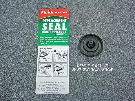 Fluidmaster 242MP071 - Arandela de recambio para flotador de válvula, repuesto de membrana de llenado