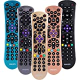 Philips Universal Remote Control for Samsung, Vizio, LG, Sony, Sharp, Roku, Apple TV, RCA, Panasonic, Smart TVs, Streaming Pl
