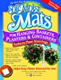 Soil Moist Mats For Hanging Baskets Planters and Containers 6pc Pack
