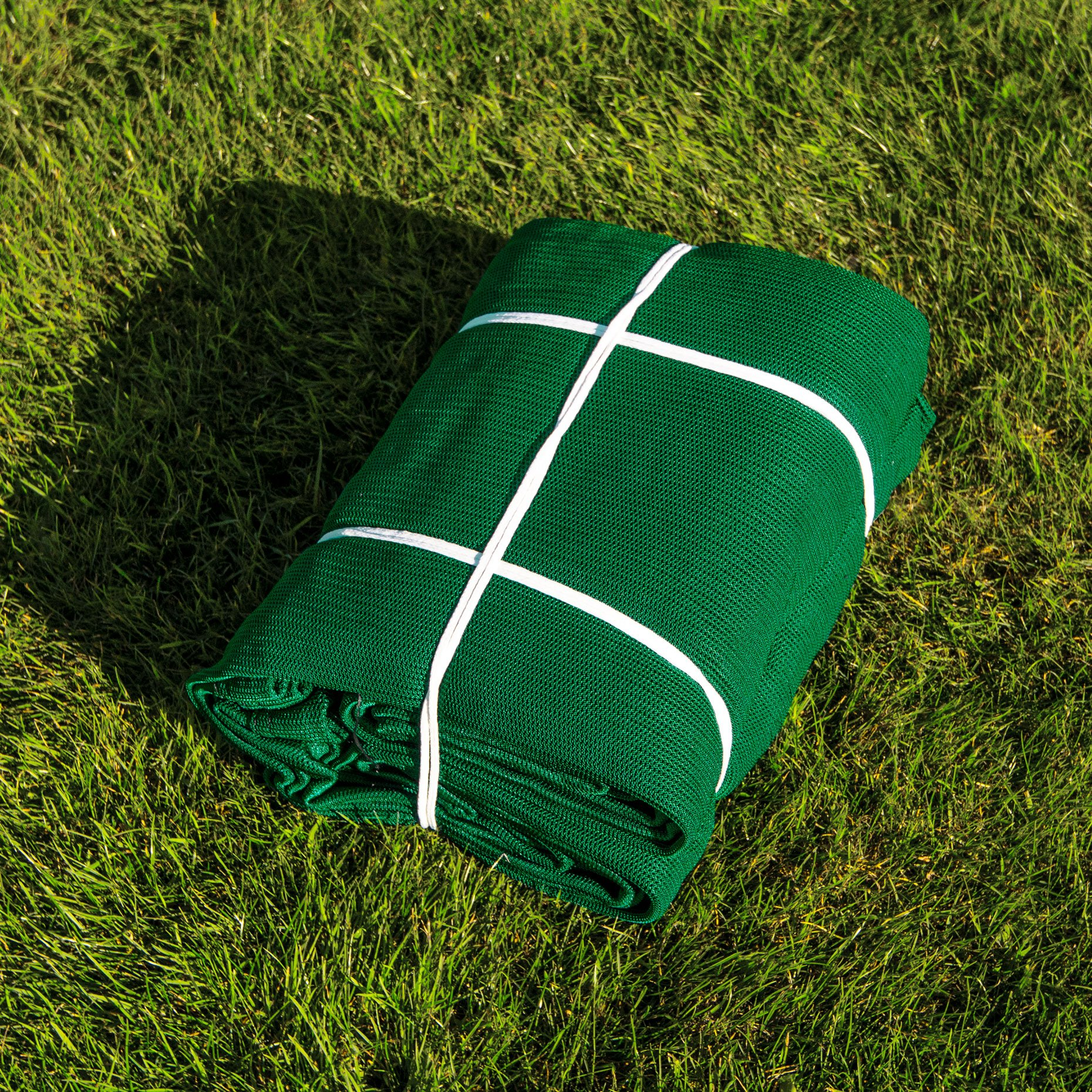Replacement 10ft X 10ft Archery Grade Golf Impact Panel Netting (Green) – Super Strong Nets Guaranteed To Protect Your Golf Practice Cage From Damage [Net World Sports] by Net World Sports (Image #4)
