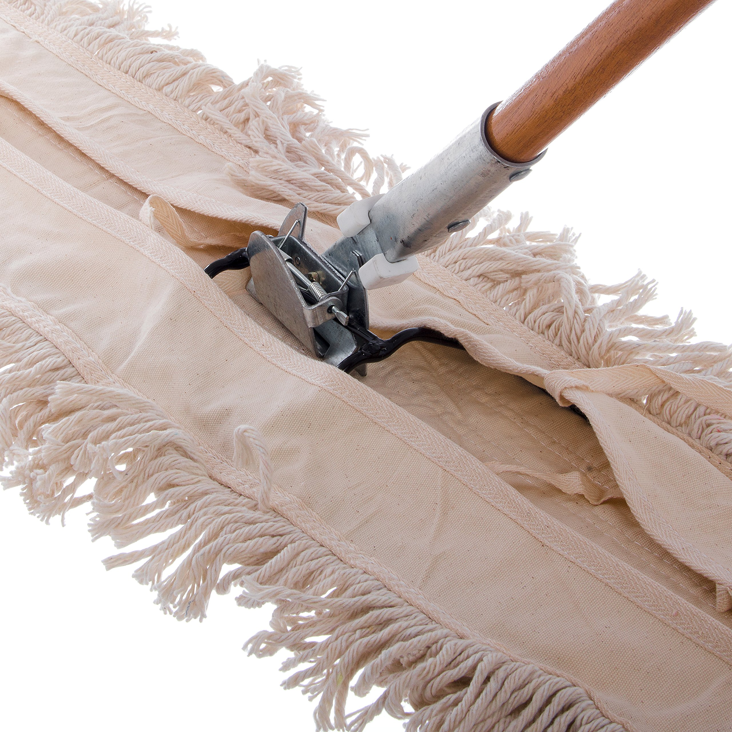 Carlisle 4585000 Wood Dust Mop Handle, 15/16'' Diameter x 60'' Length (Pack of 12) by Carlisle (Image #4)