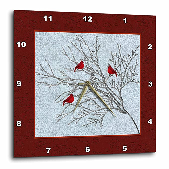 15ab24d64989a Amazon.com: 3dRose Beverly Turner Christmas Design - Cardinals in ...