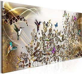 Fensterblick Leinwand Kunstdruck Modern Wandbilder Insellandschaft,60x90cm Fenster Wanddekoration Design Wand Bild