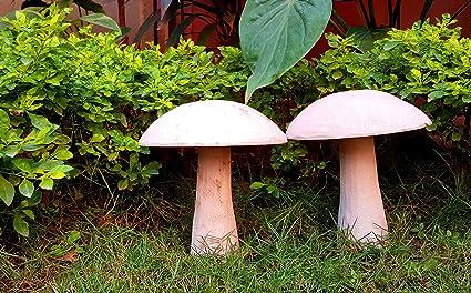 Indoor Mushroom Garden Tamatina garden decoration pair of garden mushrooms garden tamatina garden decoration pair of garden mushrooms garden decoration items balcony garden dcor workwithnaturefo