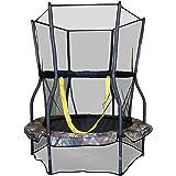 Skywalker Trampolines Round Bouncer Trampoline with Enclosure, 48-Inch