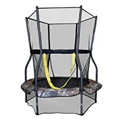 Skywalker Trampolines Round Bouncer Trampoline with Enclosure, 48-Inch