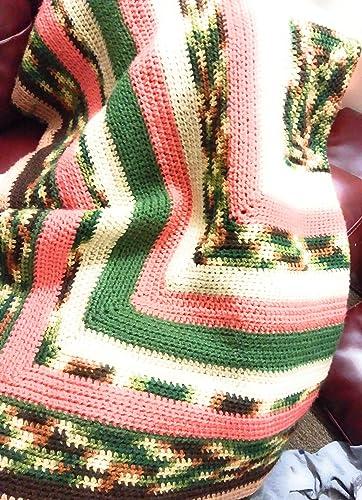 Amazon Cameo Crochet Baby Blanket 100 Acrylic Yarn Handmade