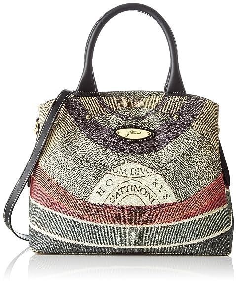 design senza tempo 21d4b a78db Gattinoni Gacpu0000097, Borsa a Mano Donna, 14x27x33 cm (W x H x L)
