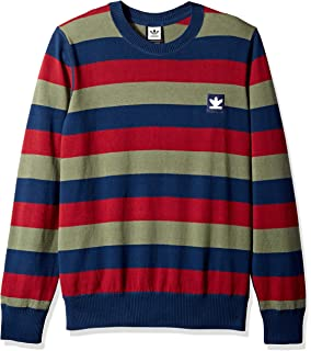 adidas Originals Mens Skateboarding Striped Sweater