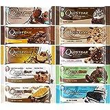 クエストバー プロテインバー チョコレート 10フレーバー バラエティパック 10 Bars(Quest bar Chocolate 10 Flavor Variety Pack)