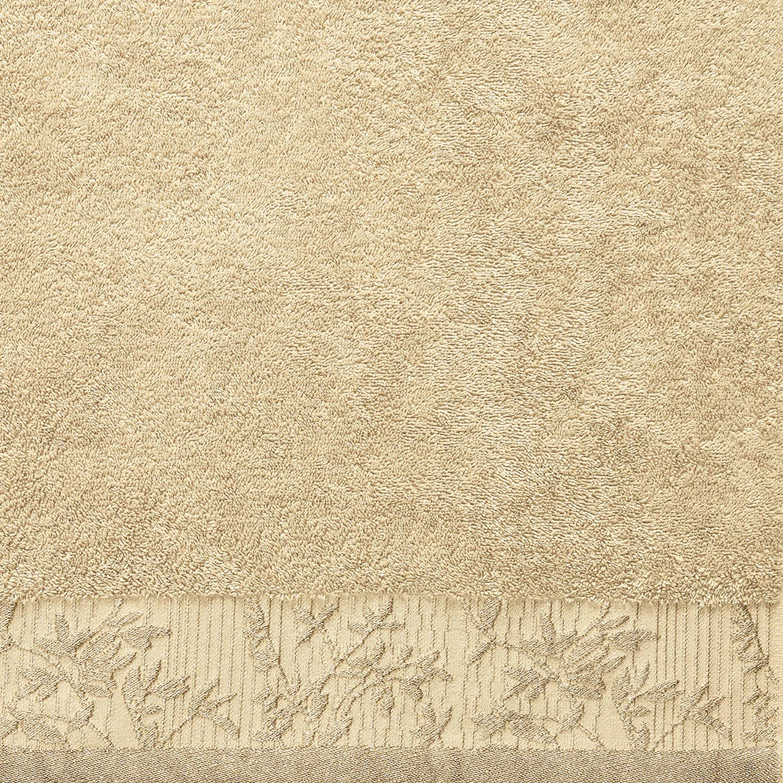 Superior Wisteria 100/% Cotton Towel Set Grey 6 Piece