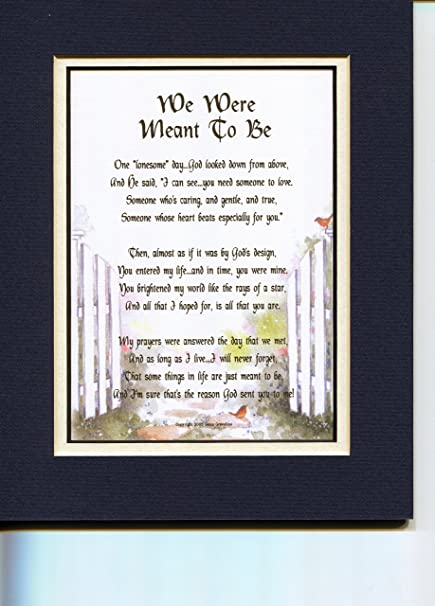 Amazon com: A Poem Present For a Wife or Husband (navy over