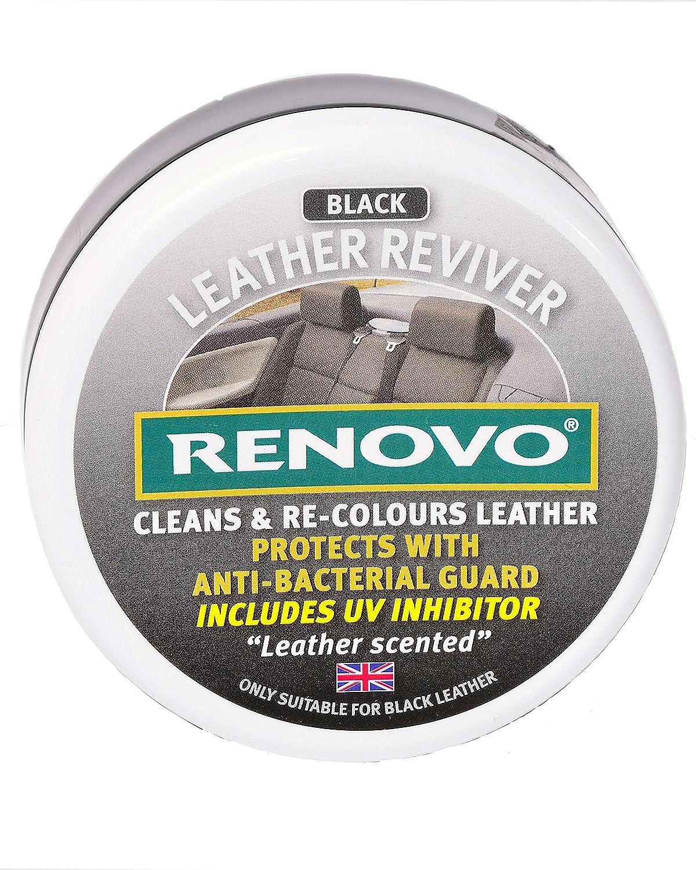 Renovo RLRBLA1147 Leather Reviver, Black, 200 ml Renovo International