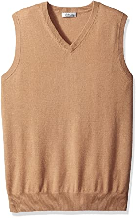Phenix Cashmere Men's 100% V-Neck Sweater Vest at Amazon Men's ...