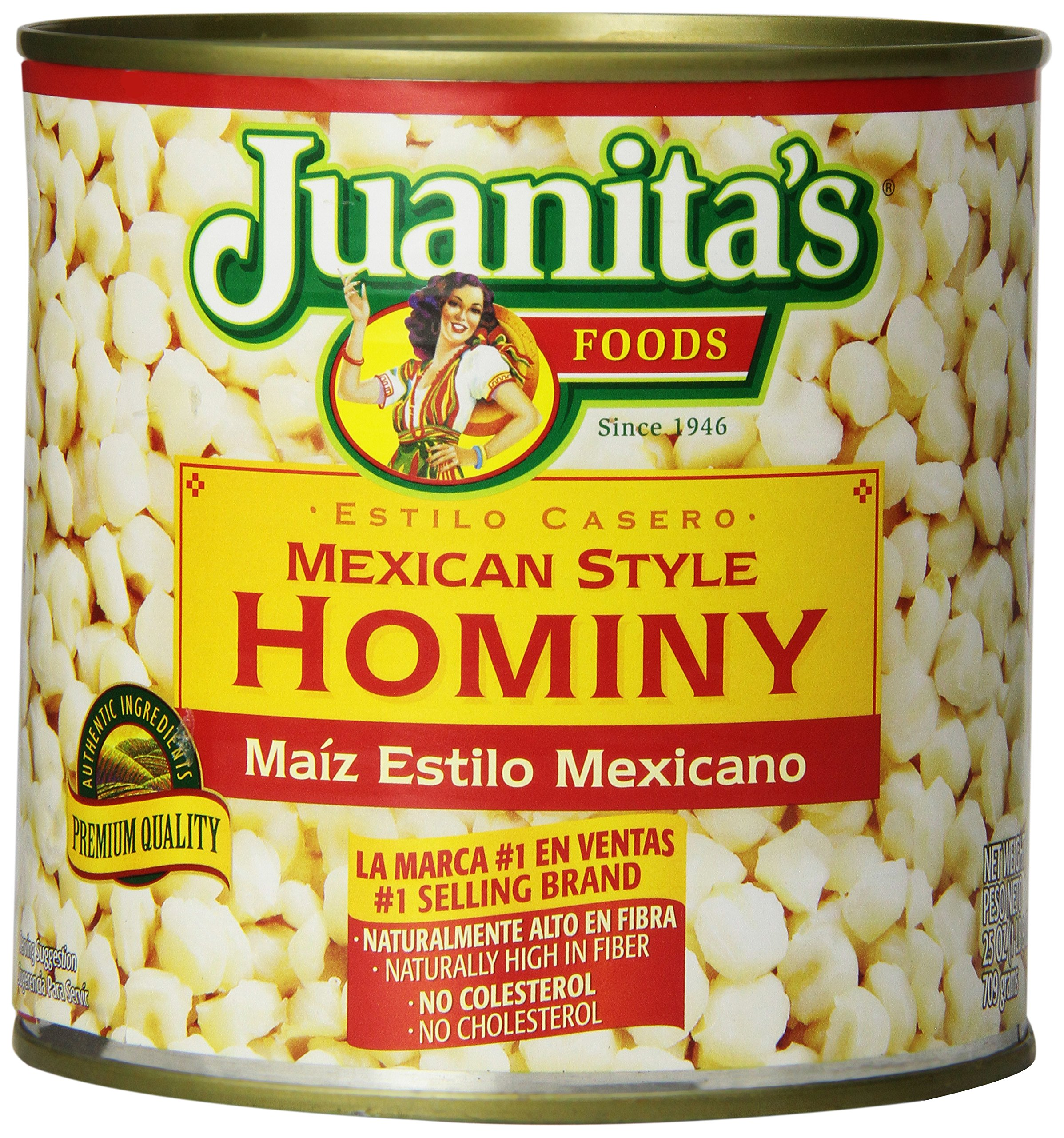 Juanitas Hominy Mexican Style, 25 oz (packaging may vary)