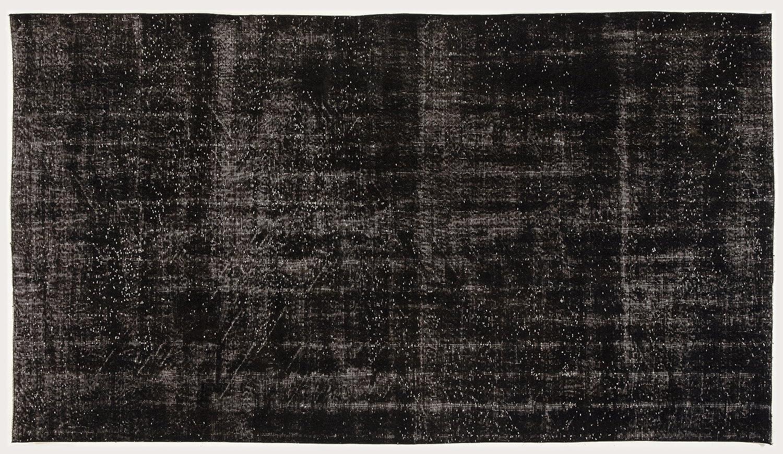 Bespoky ビンテージ 手織 ラグ 黒 大きいサイズ 173 X 311 Cm   B07HNQLQL9